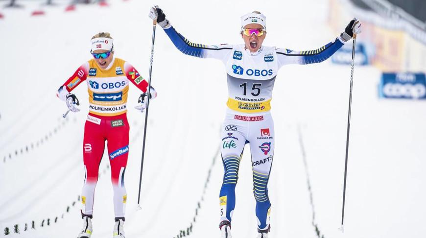Тереза Йохауг и Фрида Карлссон. Фото NordicFocus