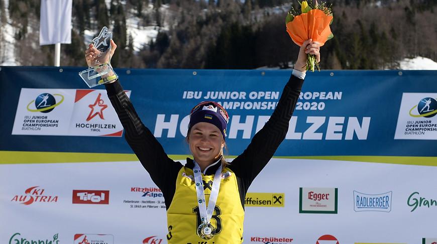 Екатерина Бех. Фото IBU