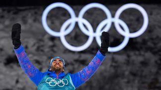 Мартен Фуркад. Фото из twitter-аккаунта биатлониста