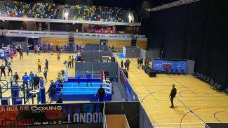 Во время турнира в Лондоне. Фото Белорусской федерации бокса