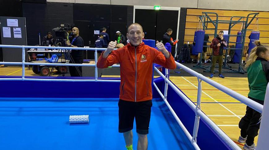 Михаил Долголевец. Фото Белорусской федерации бокса