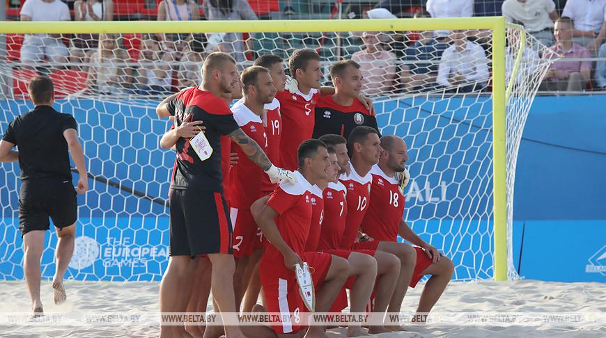 Сборная Беларуси по пляжному футболу начала тренировочный сбор в Минске