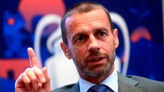 Президент УЕФА Александер Чеферин . Фото EPA-EFE