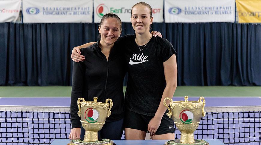 Ирина Шиманович и Вера Лапко. Фото Белорусской теннисной федерации