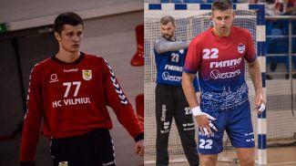 Максим Лапицкий и Дмитрий Камышик. Фото ГК СКА