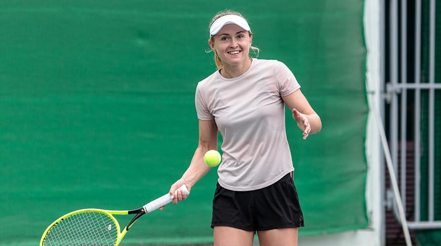 Александра Саснович. Фото Белорусской теннисной федерации