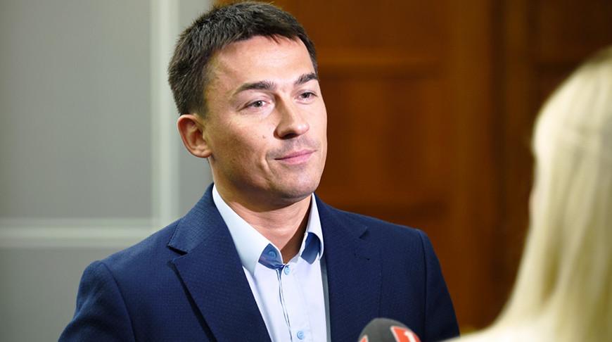 """Дмитрий Басков. Фото ХК """"Динамо-Минск"""""""