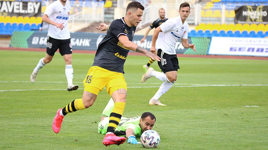 Лисакович стал автором лучшего гола 16-го тура футбольного чемпионата Беларуси