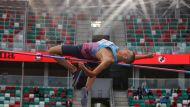 Прыгун в высоту Максим Недосеков выиграл чемпионат Беларуси по легкой атлетике