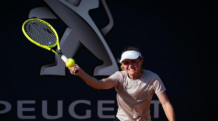 Саснович сыграет с Мертенс на теннисном турнире в Палермо