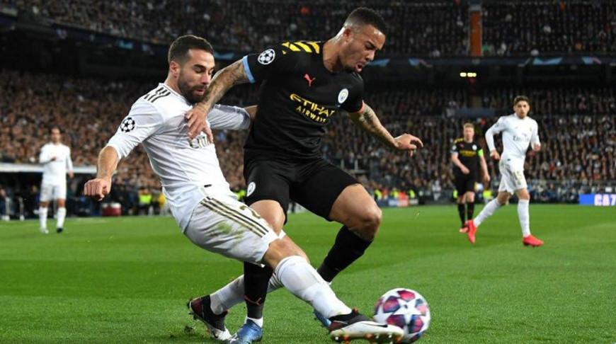 "Во время матча ""Реал"" - ""Манчестер Сити"". Фото  Getty Images"