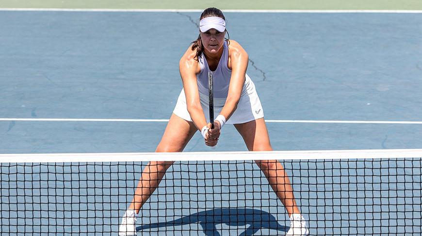 Лидия Морозова. Фото Белорусской теннисной федерации