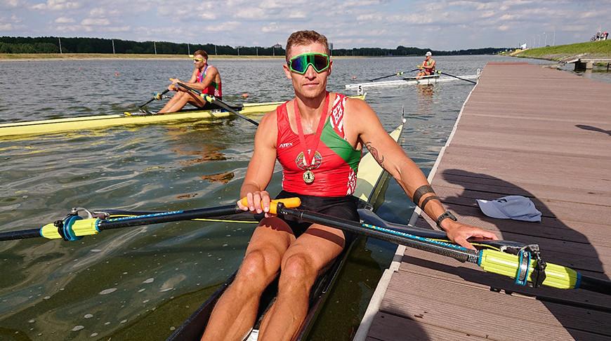 Денис Мигаль. Фото Белорусской федерации гребли