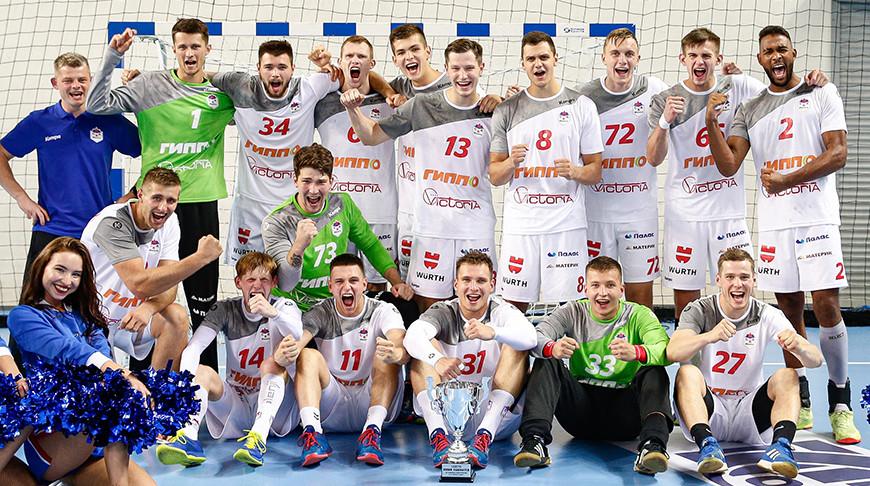 Гандболисты минского СКА стали победителями турнира в Москве