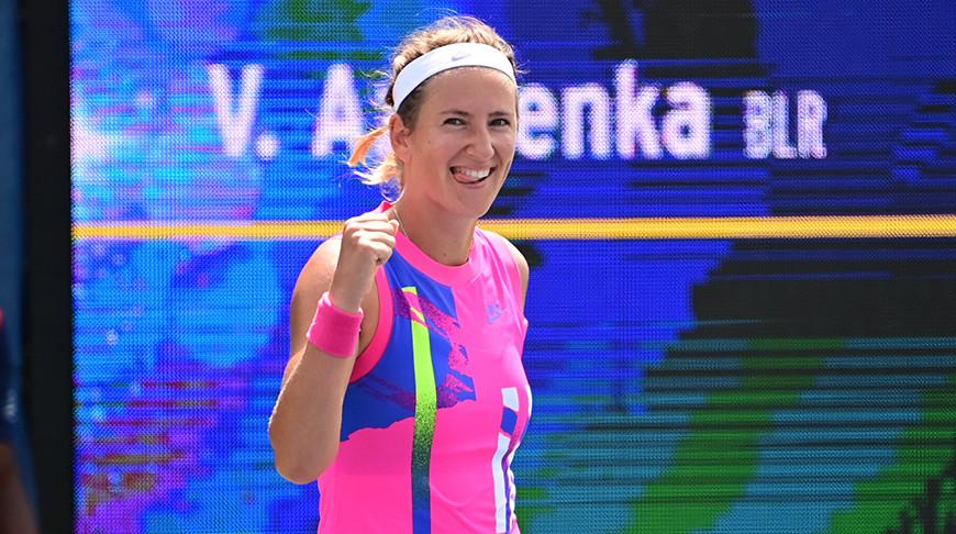 Виктория Азаренко. Фото организаторов турнира