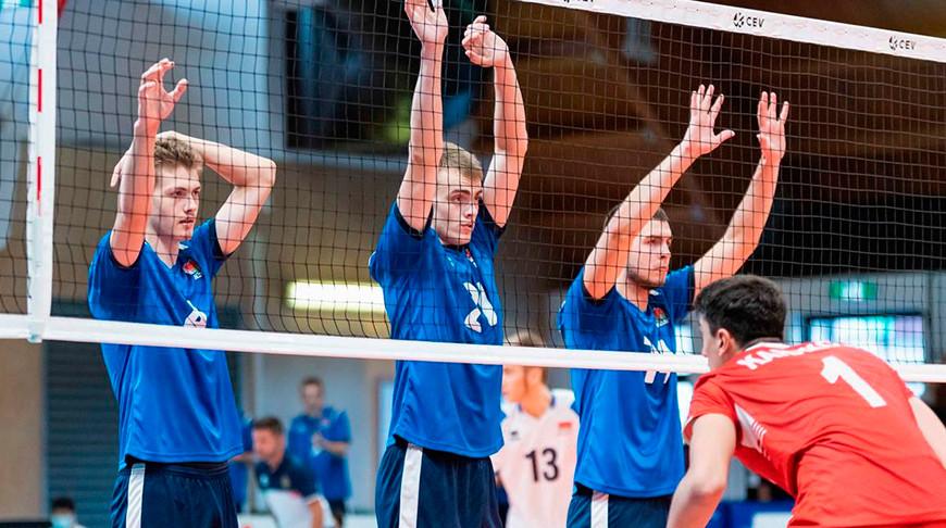 Мужская сборная Беларуси заняла 8-е место на юниорском ЧЕ по волейболу