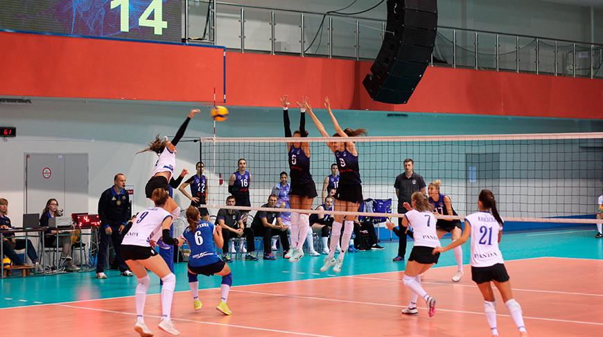 Волейболистки 'Минчанки' вышли в финал чемпионата Беларуси среди женских команд