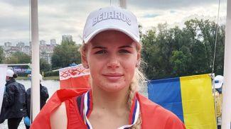 Виолетта Дмитриева. Фото Белорусской федерации гребли