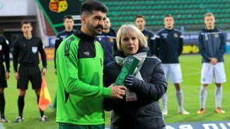 Зоран Марушич. Фото Белорусской федерации футбола
