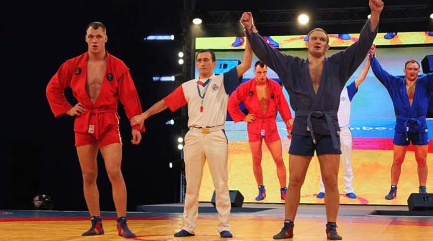 Андрей Казусенок стал четырехкратным чемпионом мира по самбо на соревнованиях в Сербии