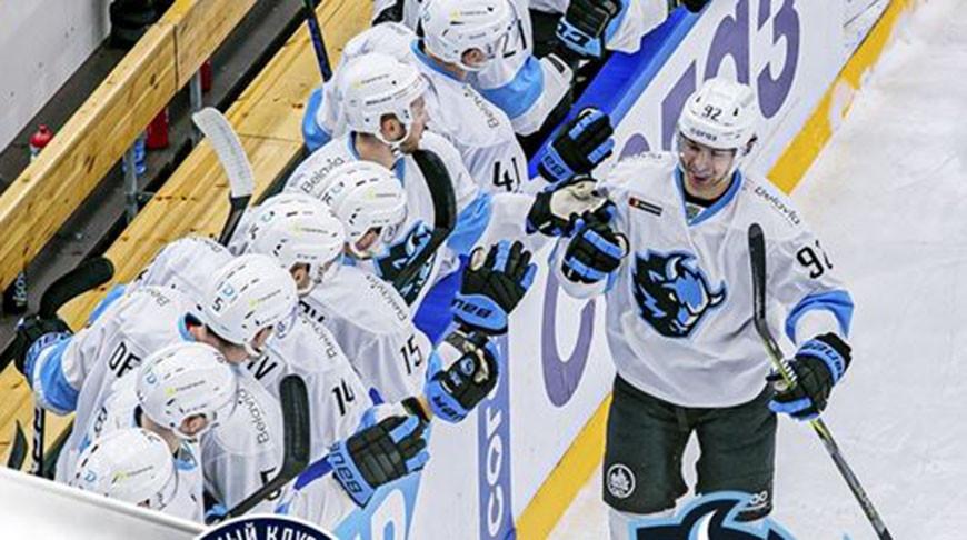 Фото из VK-аккаунта ХК Динамо-Минск