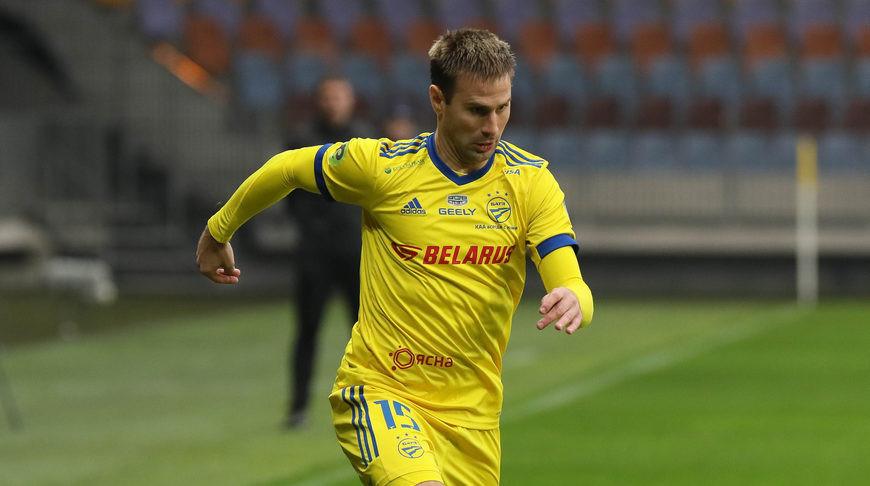 Нападающий сборной и БАТЭ Максим Скавыш признан лучшим футболистом Беларуси.