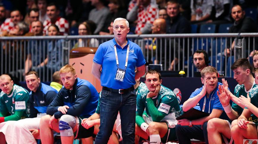 Юрий Шевцов. Фото handball.by