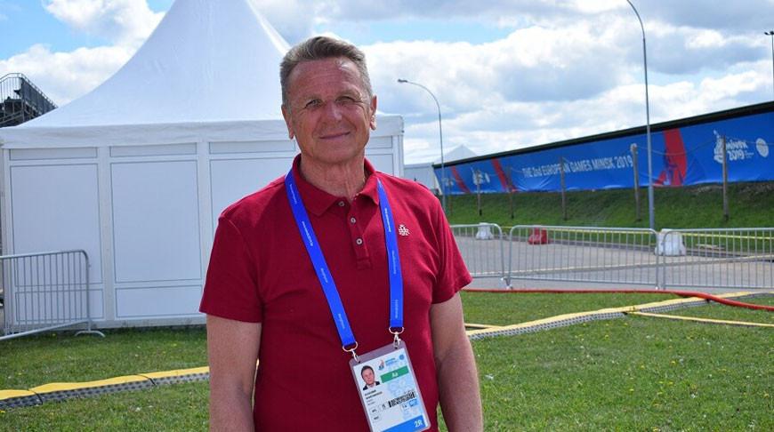 Владимир Шантарович. Фото НОК Беларуси