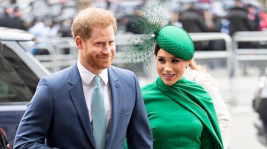 Принц Гарри и Меган Маркл. Фото Daily Mail