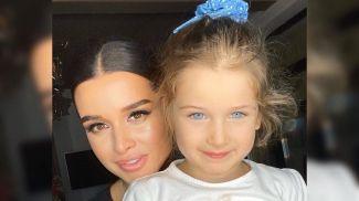Ксения Бородина с дочерью. Фото из Instagram