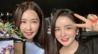 Ли Су Джин с дочкой. Фото из Instagram