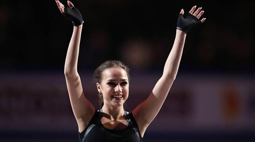 Алина Загитова. Фото ТАСС