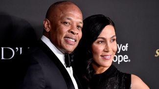 Dr. Dre с супругой. Фото Getty Images