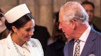 Меган Маркл и принц Чарльз. Фото Daily Star