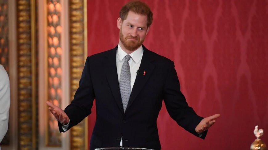 Принц Гарри. Фото Telegraph