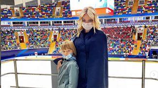 Саша Плющенко и Яна Рудковская. Фото из Instagram