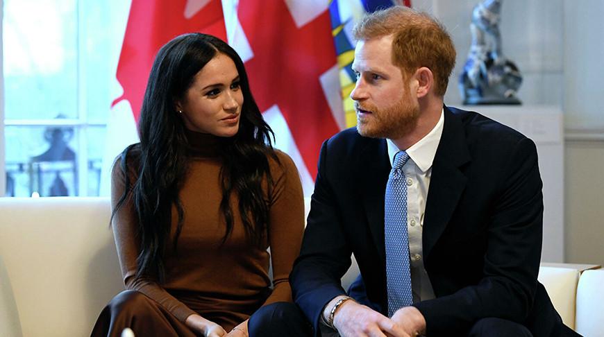 Меган Маркл и принц Гарри. Фото  AP