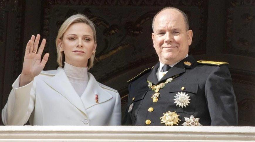 Шарлен Уиттсток и Альберт II. Фото Reuters