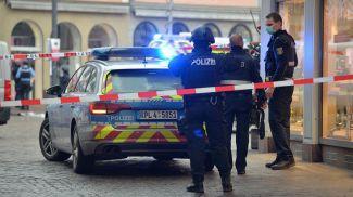 Полиция в центре Трира. Фото Picture Alliance