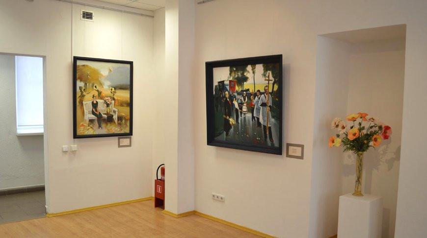 В залах Городской художественной галереи Леонида Щемелева. Фото галереи