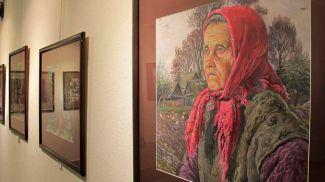 Фото: выставка Ларисы Журавович. Фото Mogilevnews