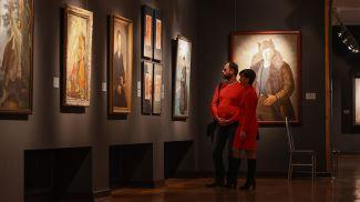 Во время посещения выставки