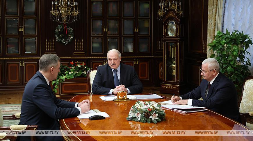 Юрий Назаров, Александр Лукашенко и Петр Пархомчик