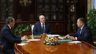 Александр Субботин, Александр Лукашенко и Виталий Дрожжа