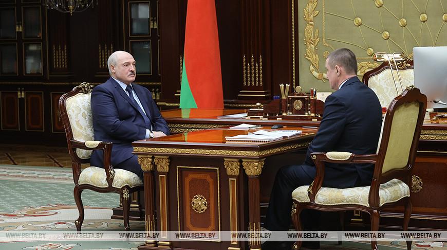 Александр Лукашенко и Леонид Заяц