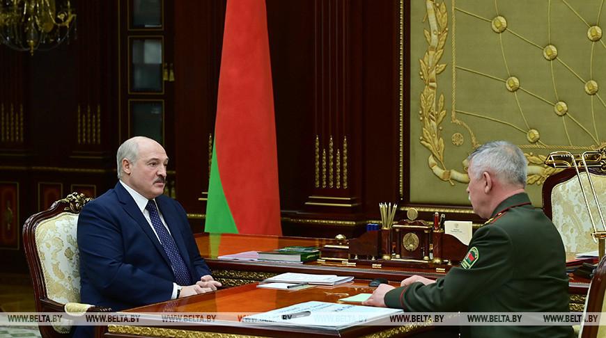 Александр Лукашенко и Анатолий Лаппо