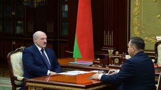 Александр Лукашенко и Андрей Худык