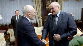Григорий Рапота и Александр Лукашенко