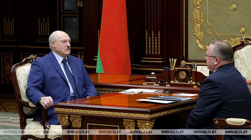 Александр Лукашенко и Василий Герасимов