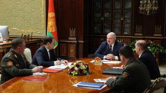 Во время совещания